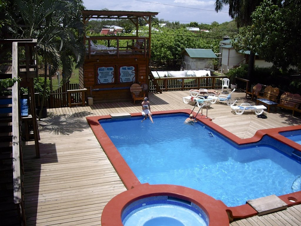 Mango Inn's pool