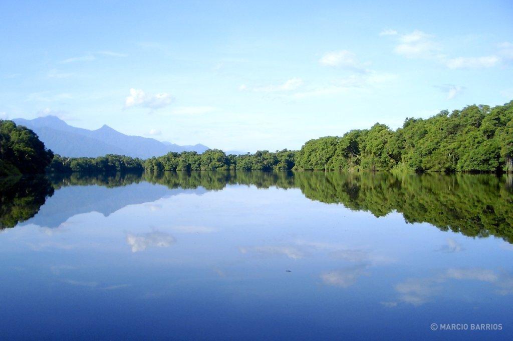 Amazing landscape mirror